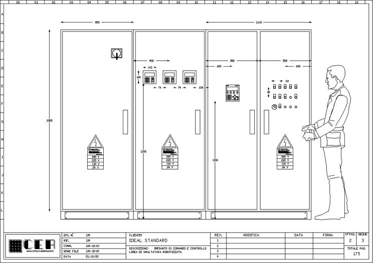 Schemi Elettrici Unifilari Dwg : C e a progettazione realizzazione di schemi elettrici
