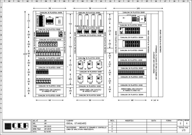 Schema Elettrico Quadro Pego : C e a progettazione realizzazione di schemi elettrici