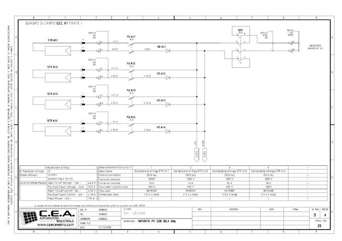 Schemi Elettrici Scaricatori Di Sovratensione : C e a progettazione schemi elettrici per quadri di