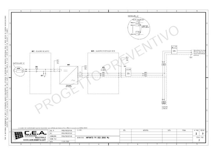 Schemi Elettrici Fotovoltaico : C e a progettazione schemi elettrici per quadri di